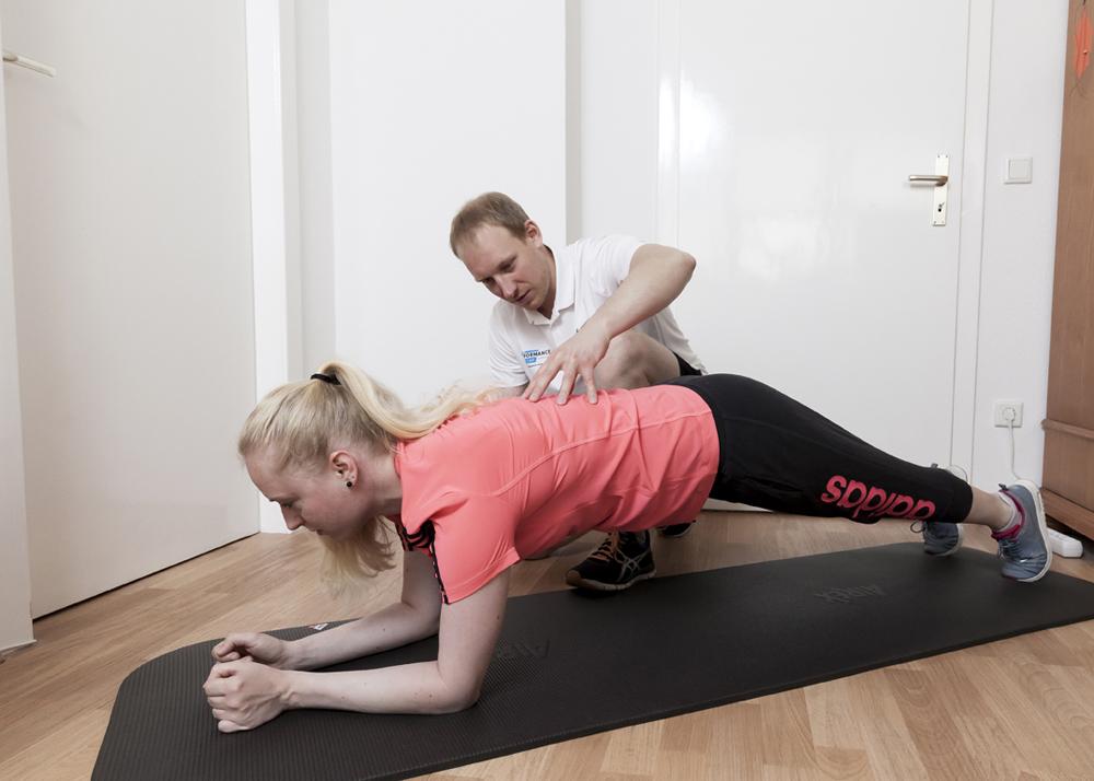 Trainieren zu Hause – fit performance team